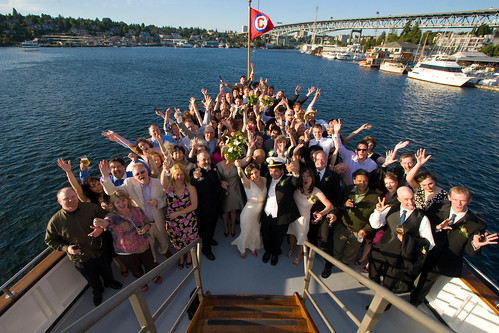 astrid kyles seattle boat wedding offbeat bride