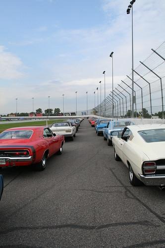 Aero Warriors on Race Track