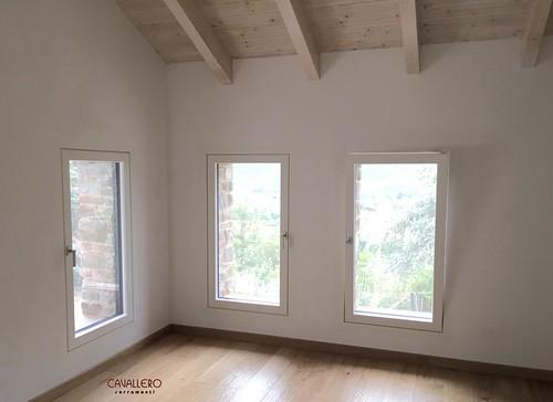 Finestre in legno complanari Linea Area