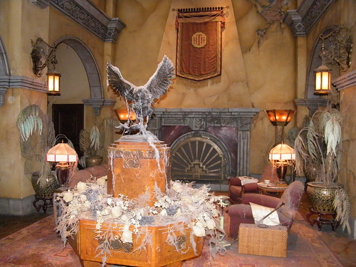 Inside Hollywood Tower of Terror at Disney's California Adventure Park