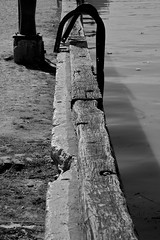 Dock (Natalia Romay Photography) Tags: old urban bw water argentina argentine río stairs canon river muelle dock agua buenosaires bn viejo tigre escaleras américalatina blackwhitephotos ultimolibro nataliaromay