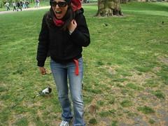 London 2009- Io e scoiattolinooo in volo