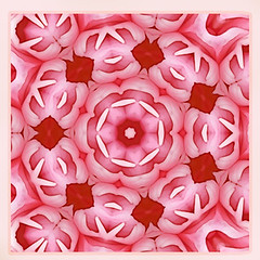 luminous spring love (SueO'Kieffe) Tags: nature digital photoshop patterns kaleidoscope mandala spirituality