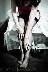 (Rev Horowitz) Tags: woman canon hotel bed swoon boudoir afterdark onelight courset