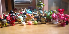 Collections Vinyl (Hazel) Tags: amanda west angel toy big doll julie toe tara designer vinyl ufo kidrobot ugly kawaii poo sonny uglydoll unicorn ravin dunny mcpherson kewpie tokidoki lunartik unicorno visell rabbid usadango