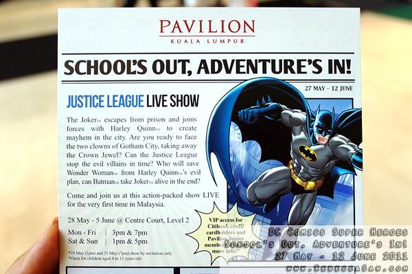 DC Comics Super Heroes - Pavilion KL-08