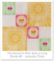 Farmer's Wife Quilt-a-Long - Block 2