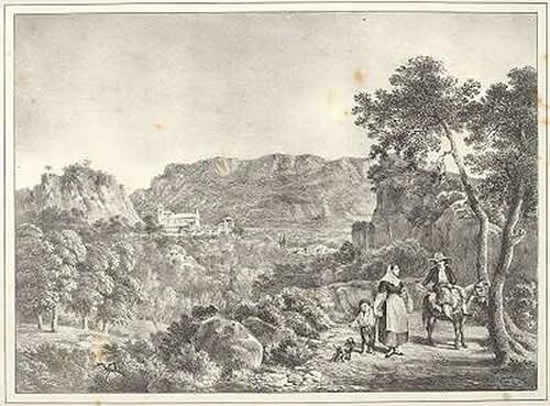 Litografía de Bartolomé Sureda