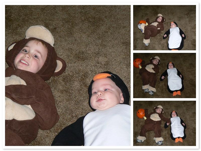 The boys on Halloween 2007