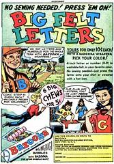 big felt letters