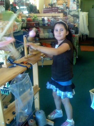Annie Winding Yarn