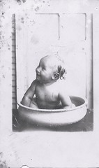Baby Bath of my Grandfather... I never knew him.