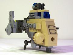 Nasal Avenger (M.R. Yoder) Tags: dan lego space nasal avenger moc jassim microscale