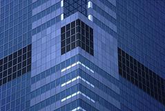 Skyscraper (David Thyberg) Tags: city blue usa newyork building manhattan line 1991 fc 80200mmf28d flickrchallengegroup flickrchallengewinner friendlychallenges