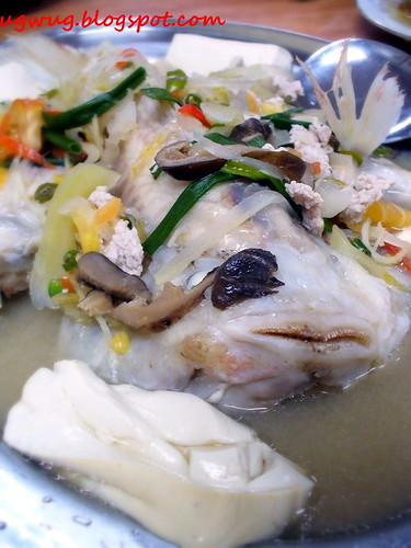 Steam Fish with Sour Broth