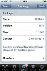 iSolitaire Update 0.71