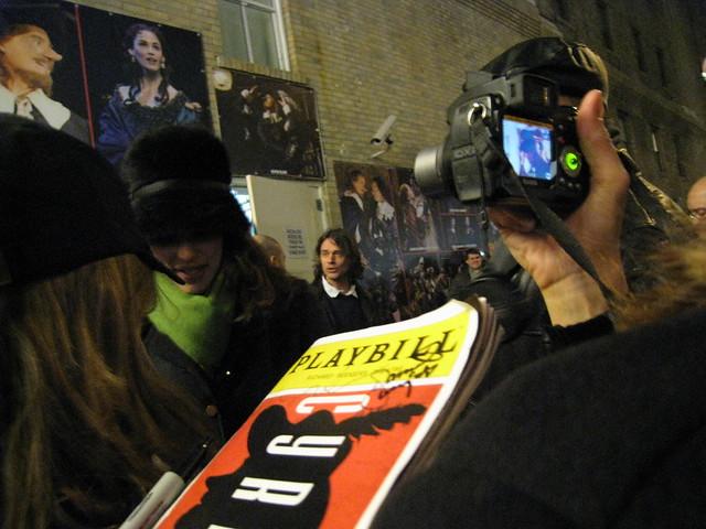 Jennifer Garner outside Cyrano by Jennifer Vanasco