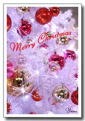 Christmas card (* Yumi *) Tags: christmas winter illumination explore