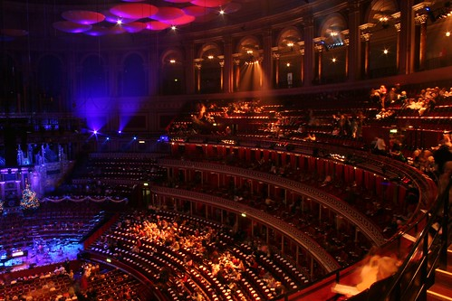 London - The Royal Albert Hall - Christmas Carols 3
