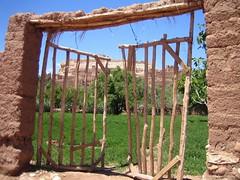 Puerta de la kasbah de Ait Ben Haddou