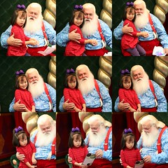 见到了santa 之 又怕又爱