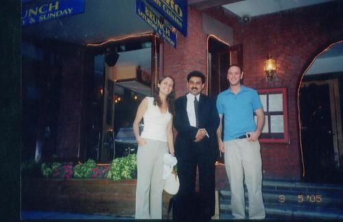 L to R: sister Cristina LaRocca (International/global health); Dr. Ali Imran (International/Global health and Attorney John Wynn ( International law), 2004 at washington D.C., USA