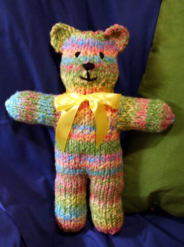 Easy Knitting Pattern For Teddy Bear : Knit Teddy Bear Pattern