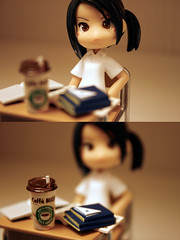 I hate school! (Inoue_Orihime) Tags: school macro cute love fun toy japanese doll pinky plastic kawaii pinkyst pinkystreet jfigure