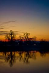 Jarun Lake, Zagreb (apoklistika) Tags: trees sunset lake water ska croatia zagreb jarun fpc betterthangood