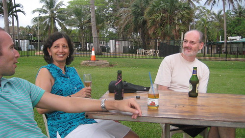 Hugh, Jayshree and Peter