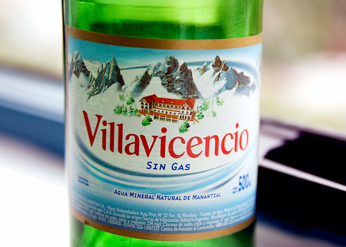 Villavicencio Bottle