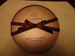 ゴディバのチョコレートムース