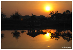 #63/08  Sunrise II (Ibnu Yusuf) Tags: morning sun sunrise reflections malaysia selangor shahalam unedited lakegarden firstquality golddragon mywinners platinumphoto impressedbeauty diamondclassphotographer flickrdiamond citrit theunforgettablepictures dragongoldaward dkayangan ibnuyusufsony aplha200