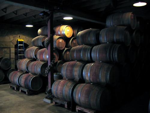 Wine Barrels - Photo by Jon Starbuck