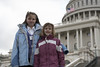 Jessica and Olivia Brian at the Capitol.