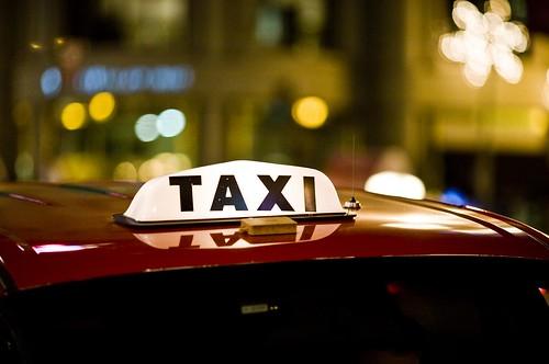 Taxi, Union Square, 2007