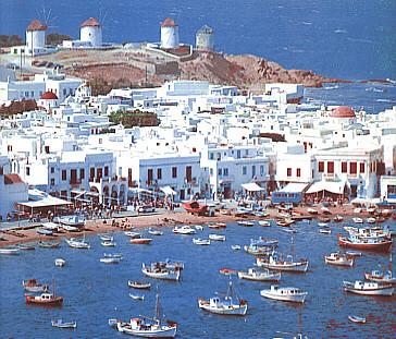 mykonos cãladas grecia