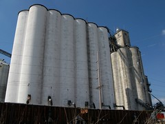 Effingham Illinois Grain Elevator (mereshadow) Tags: rural illinois community midwest elevator grain traincar grainelevator effingham 170 agricultural equity southernillinois april2008 orsouth