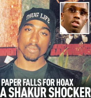 Tupac Scandal
