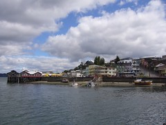 Chiloe - Castro - port