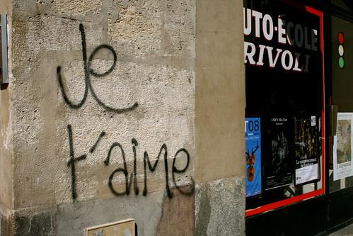 Paris, je t'aime aussi!