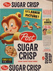 Sugar Crisp cereal box flat - Lil Abner Pop Out Picture - front - 1957 (by JasonLiebig)
