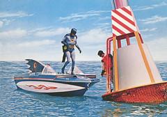 batman_boat (Al Q) Tags: robin boat batman buoy