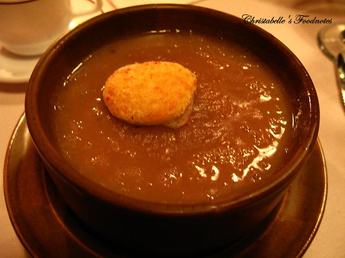 紅屋牛排洋蔥湯