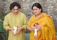 Shubha Ji and Aneesh Ji