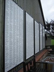 Photo of Legacy donor recognition boards, Donkey Sanctuary, Sidmouth