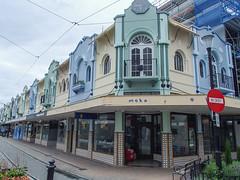 439 - Maisons colorées à Christchurch