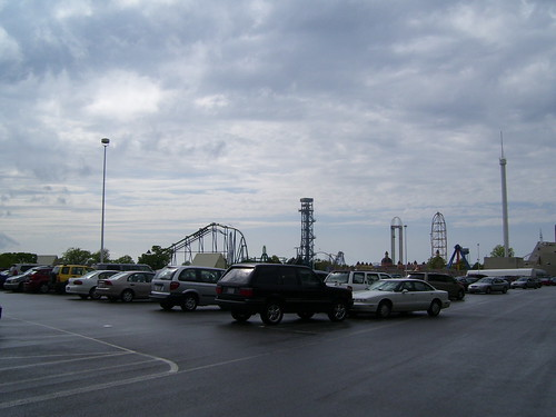 Cedar Point - Parking Lot