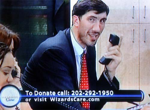 can big gheorghe muresan get on the horn and find the wizards a big man