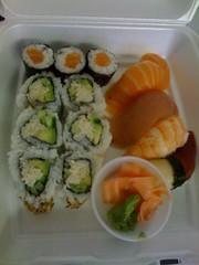 sushi from sushiyama